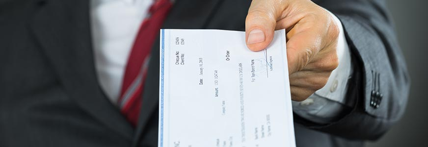Don't Issue Blank Cheques!