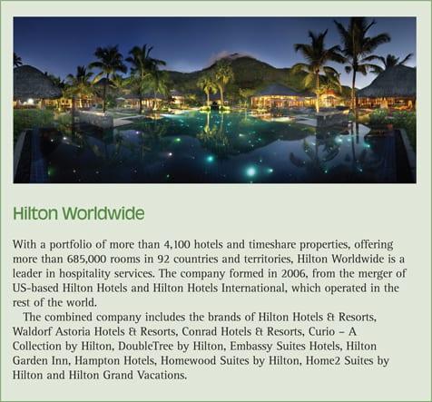 Hilton Worldwide biography