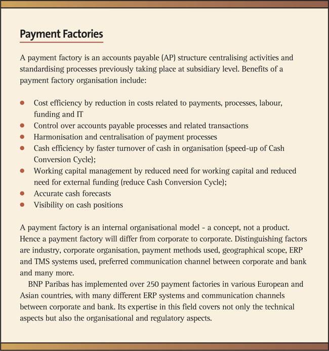Payment Factories